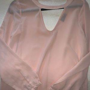 ASTR pink blouse
